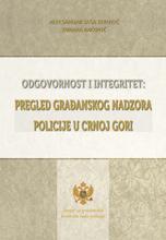 Odgovornost i integritet: Pregled građanskog nadzora policije u Crnoj Gori